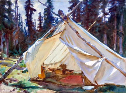 A Tent In the Rockies 1916-2