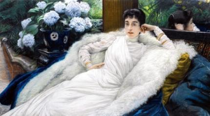 Portrait of Clotilde Briatte, Comtesse Pillet-Will