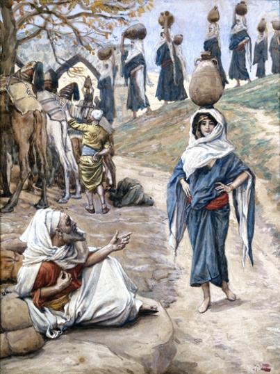 Abraham's Servant Meeteth Rebecca