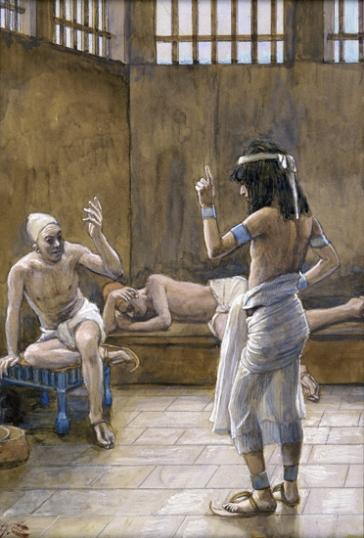 Joseph interpreteth the Dreams While in Prison