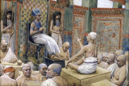Joseph interprets Pharaoh's Dream