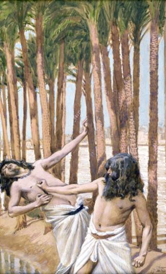 Moses Slays an Egyptian