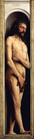1. The Ghent Altarpiece Adam