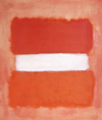Untitled, White Center, 1957