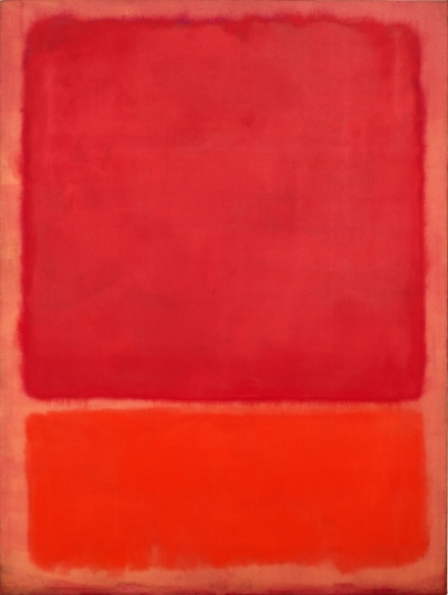 Untitled (Red, Orange) 1968