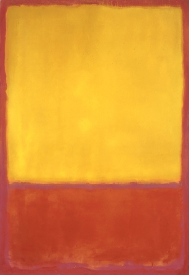 Ochre And Red On Red 1954