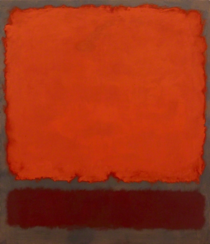 Untitled (Orange, Red And Red), 1962