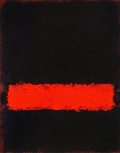 Untitled ( Black Red And Black), 1968