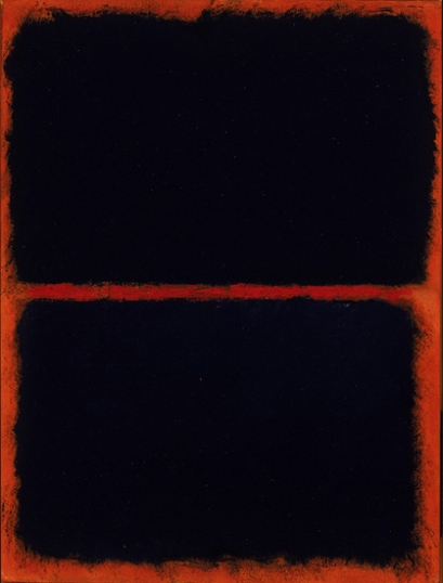 Untitled (Black On Red), 1968