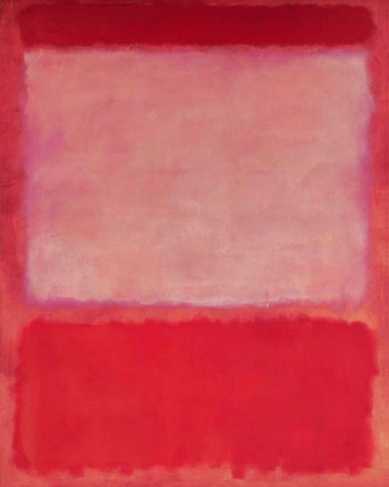 No 16 (Orange, Purple, Orange), 1960