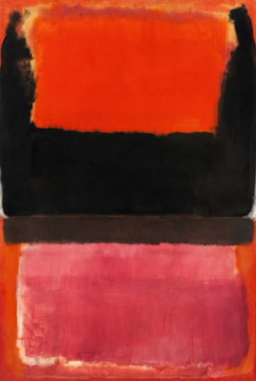 No. 21 (Red, Brown, Black And Orange)