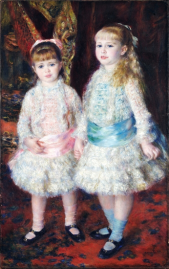 Pink and Blue – the Cahen D´anvers Girls 1881