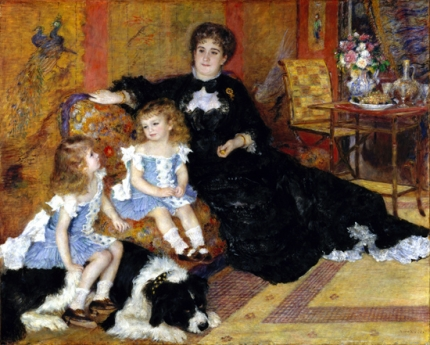Mme. Charpentier and Her Children, 1878