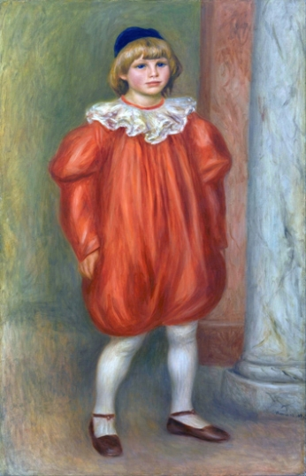 Claude Renoir in Clown Costume