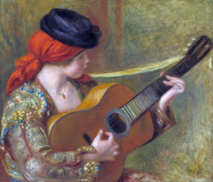 Young Spanish Woman with a Guitar 1898