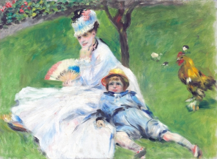 Madame Monet and Her Son 1878
