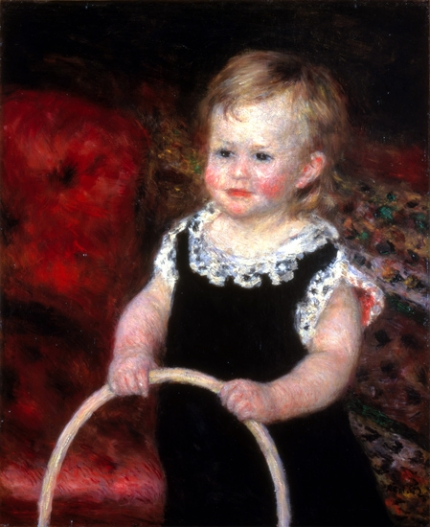 Child with Hoop 1875