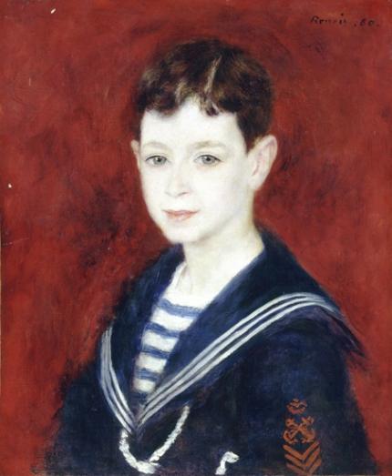 Fernand Halphen as a Boy 1880