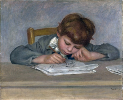 The Artist's Son, Jean Drawing