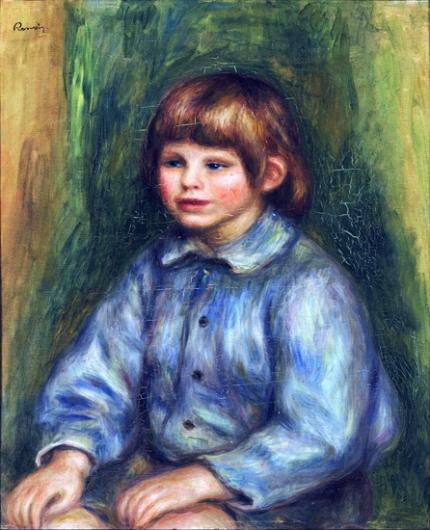 Portrait of Claude Renoir 1908