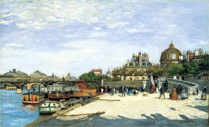 The Pont Des Arts Paris