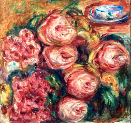 Composition with the Roses and the Tea Cup