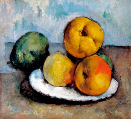 Still Life with Quince, Apples, and Pears