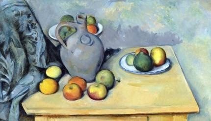 Pichet et Fruits sur une Table