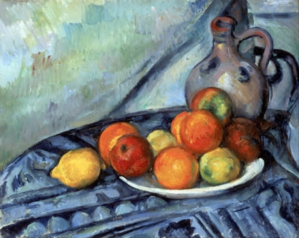 Fruit and a Jug on a Table 1890