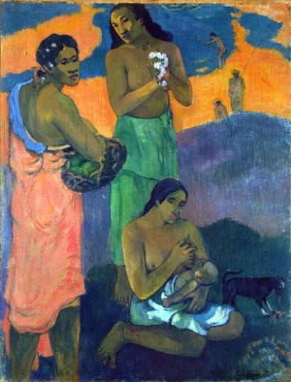 Maternity, or Three Women on the Seashore