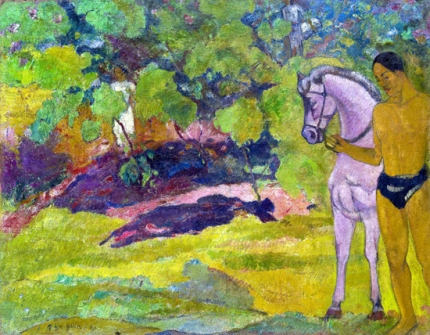 The Vanilla Grove, Man and Horse