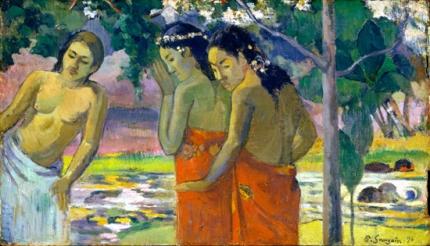 Three Tahitian Women