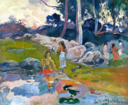 Woman on the Banks of the River