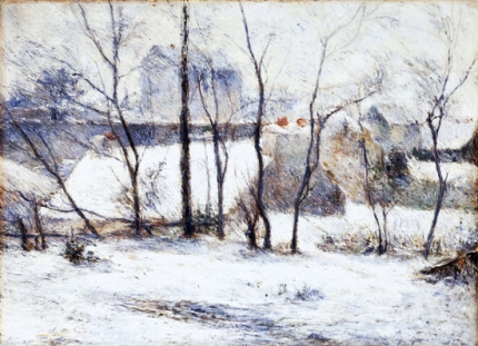La Neige À Vaugirard Ii (1879)