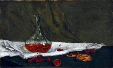 Cherries and Carafe