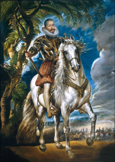 Equestrian Portrait of the Duke of Lerma 1603