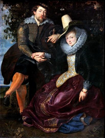 The Honeysuckle Bower-Rubens and Isabella Brandt