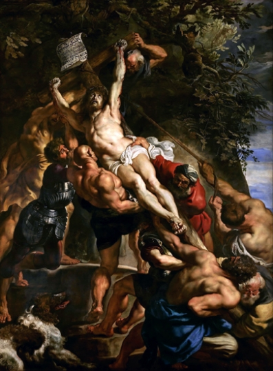 The Elevation of the Cross 1610-Center Panel