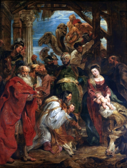 The Adoration of the Magi 1624
