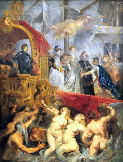 The Disembarkation at Marseilles 1625