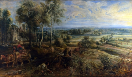 A View of Het Steen in the Early Morning 1636