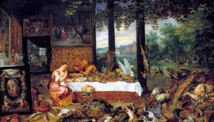 Allegory of Taste 1618