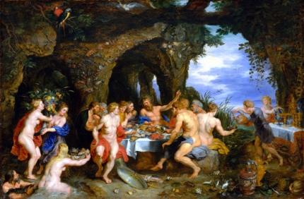 The Feast of Acheloüs 1615