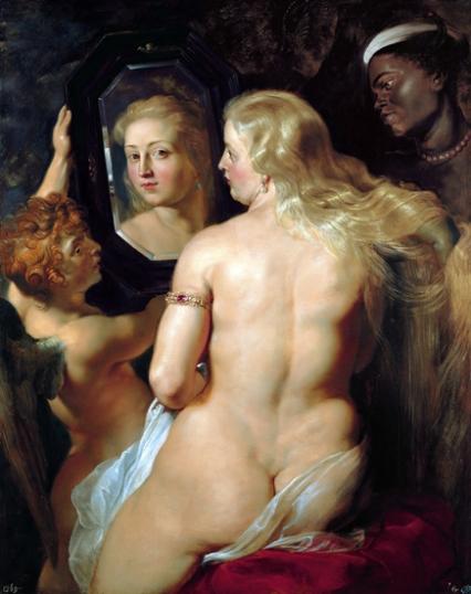 Venus at a Mirror 1615