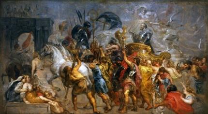 Triumphal Entry of Henri IV in Paris