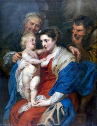 The Holy Family with Santa Ana 1630