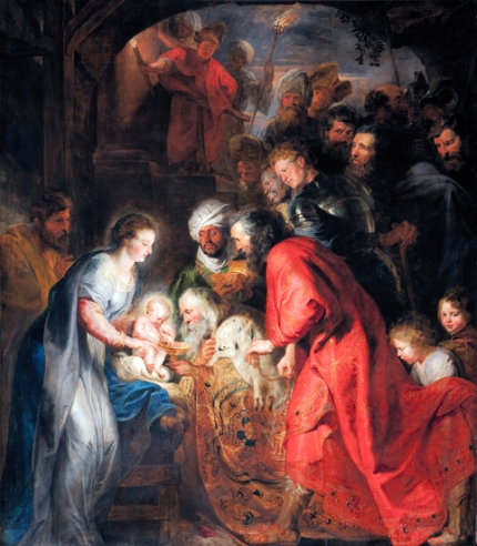 The Adoration of the Wise Men 1619
