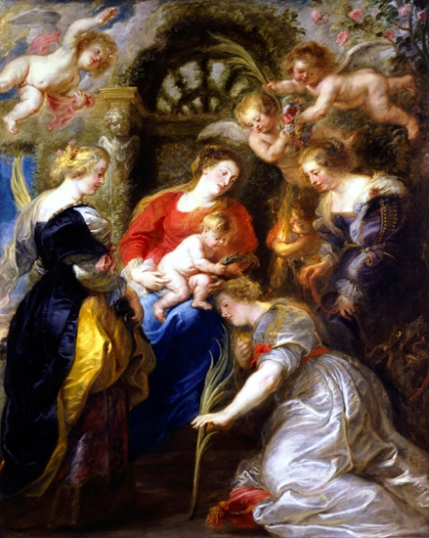 Crowning of Saint Catherine 1631