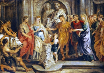 The Marriage of Constantine and Fausta and of Constantia and Licinius 1622