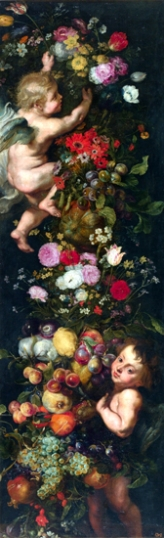 Feast of Flowers and Fruits and Angels